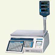 Весы торговые со стойкой,  с печатью на этикетках CAS LP-R-15 (v. 1.6)