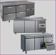Холодильный стол б/у,  столы холодильные б/у для кафе,  ресторана